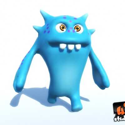 Cartoon 3D Monster